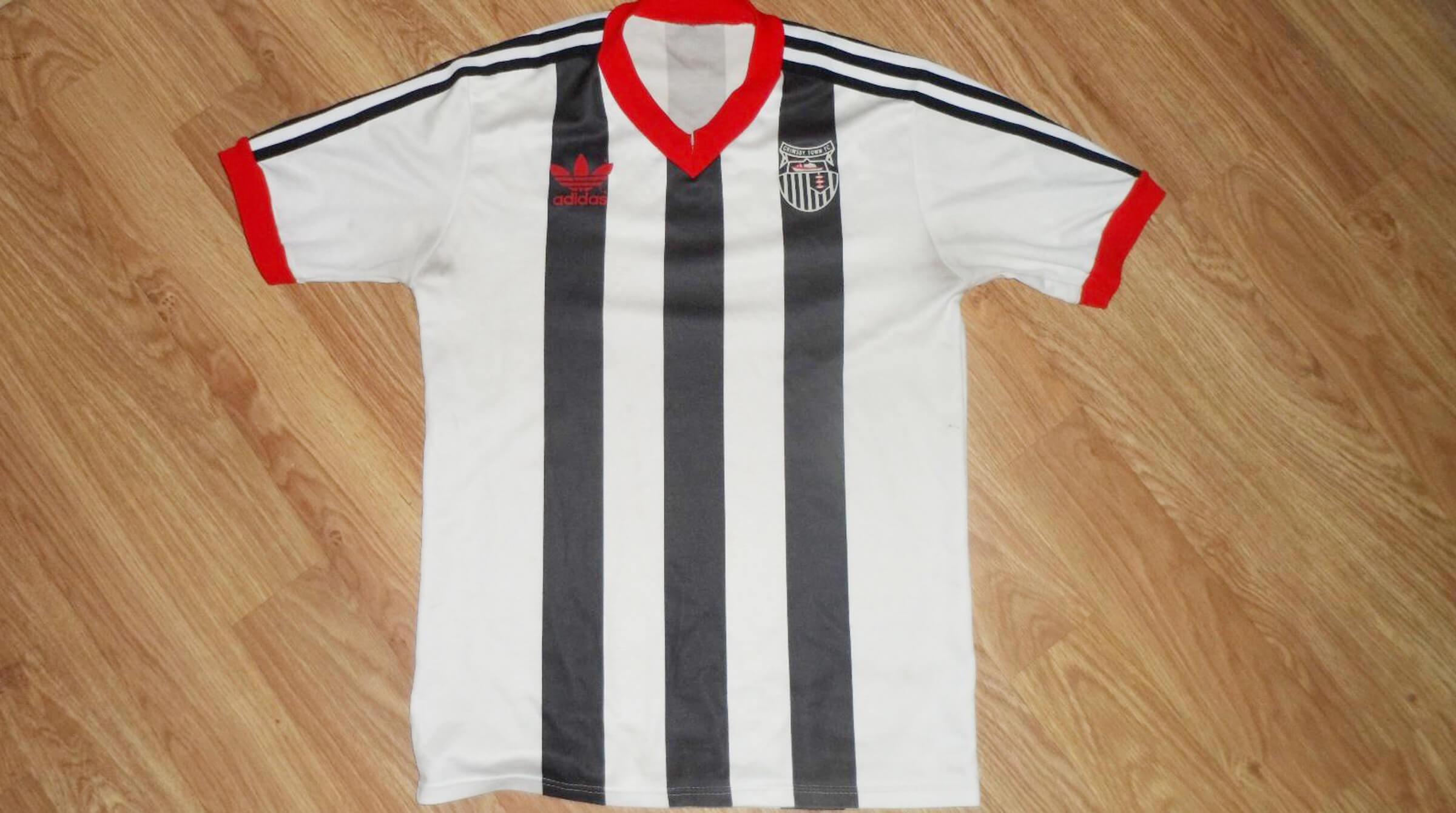 KidDotCo | Grimsby Town shirt | Adidas | 1981-1982
