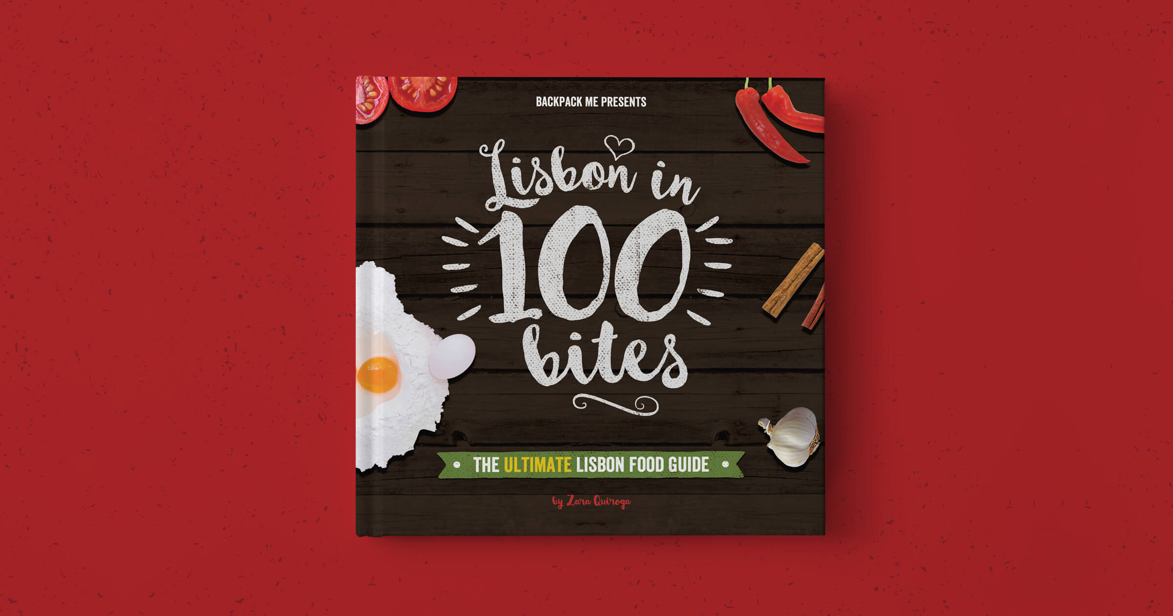 'Lisbon In 100 bites' eBook cover