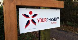 Your Physio signage