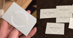 Amy Nixon business cards