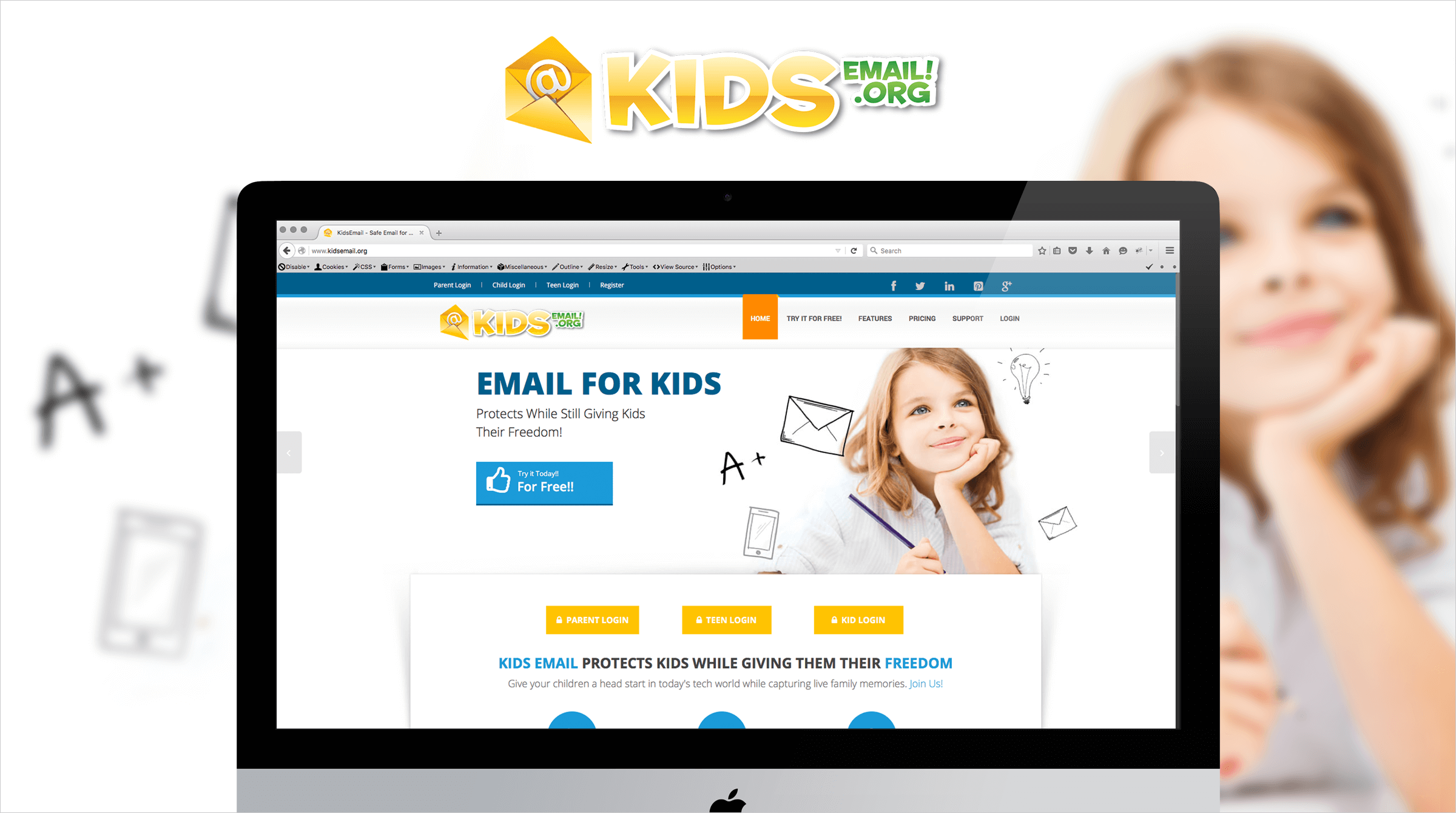 KidsEmail.Org and KidDotCo