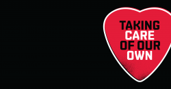 Live Nation 'Taking Care Of Our Own' branding