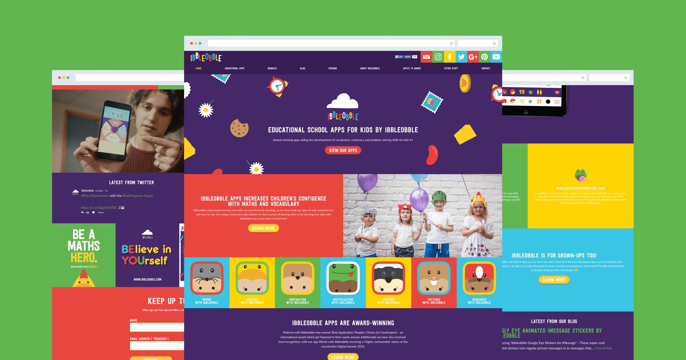 ibbleobble website home