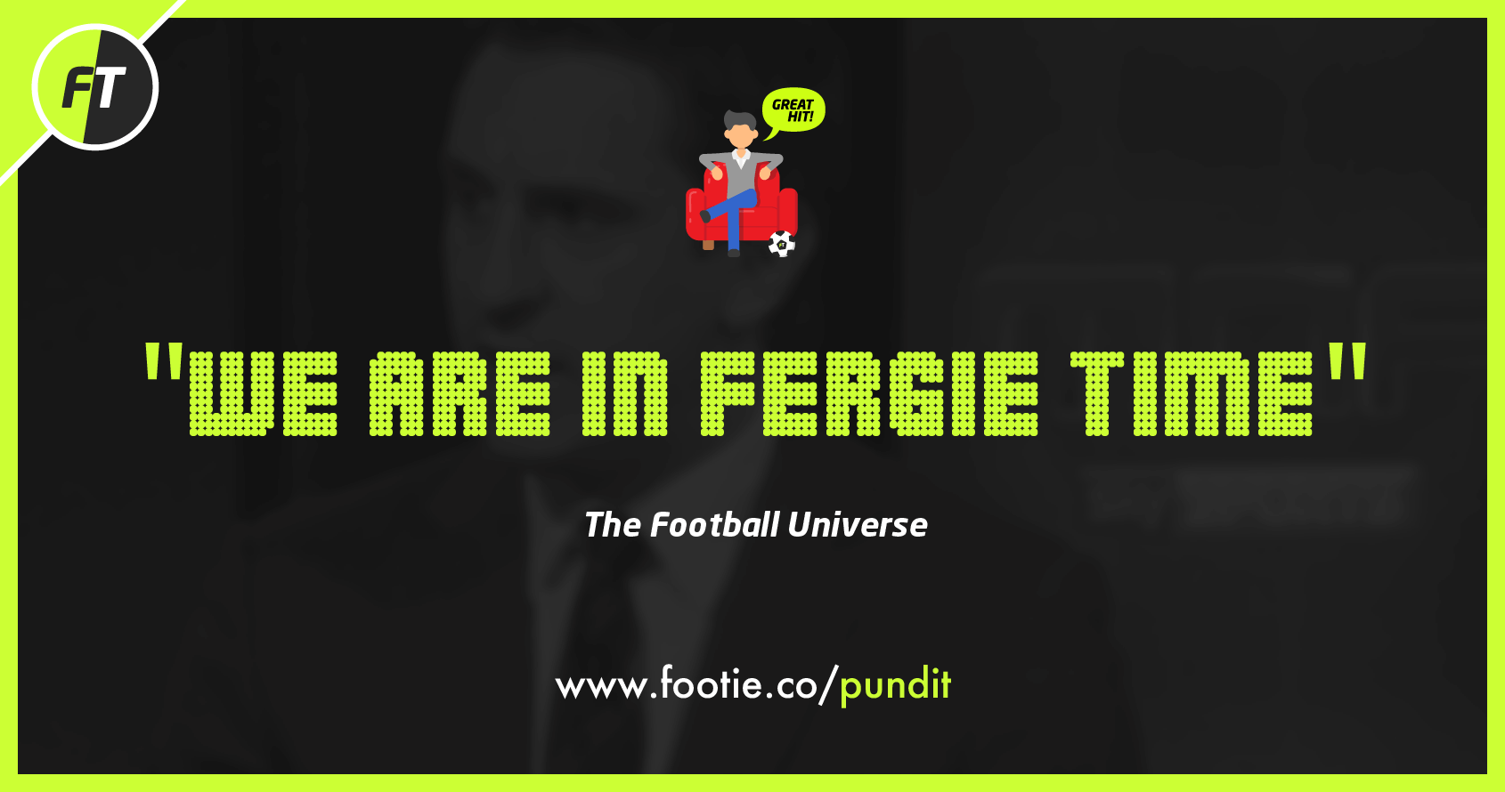 Download FootieTalks® Armchair Pundit iMessage App