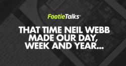 England Footballer Neil Webb | Footietalks